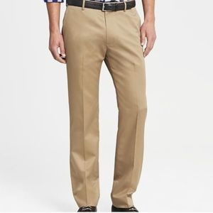 Non Iron Tailored Slim Fit Pants